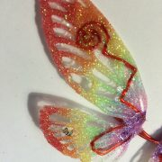 Glow In the dark Rainbow Wings