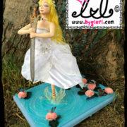Lady of the lake Logo by gloriann Irizarry